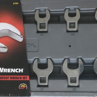 81909 Gearwrench 10 Pc. Metric Crowfoot Wrench
